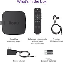 Roku Ultra what's in the box